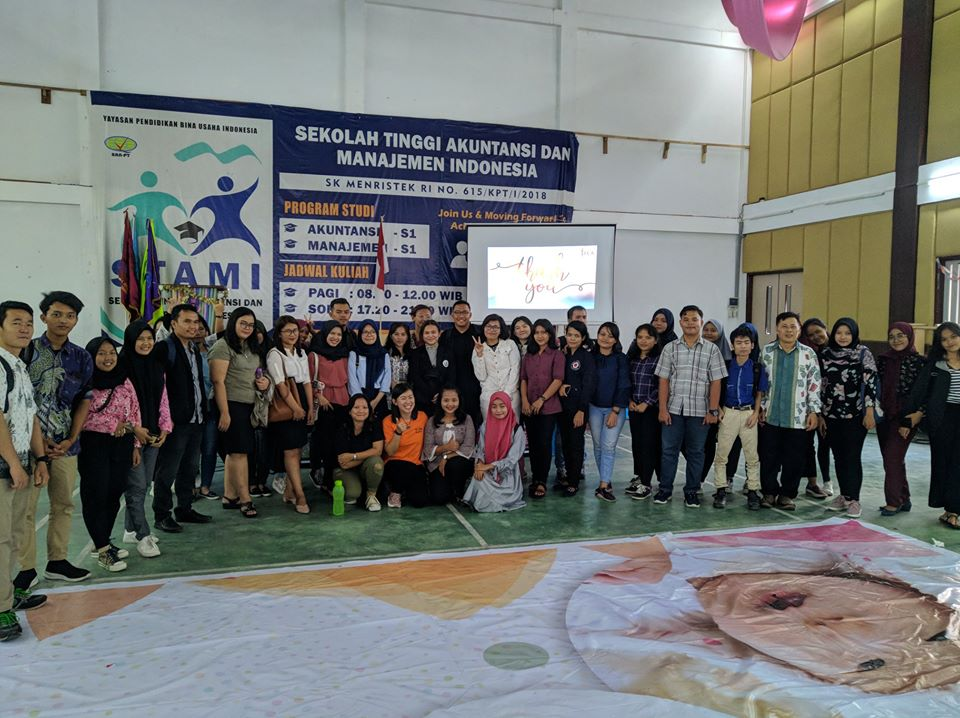 PBI Dan STAMI Gelar Seminar SPEAKING CONFIDENCE WITH PUBLIC SPEAKING